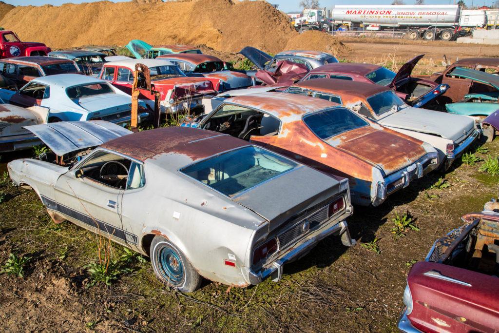auto wrecking yards near Lynn MA