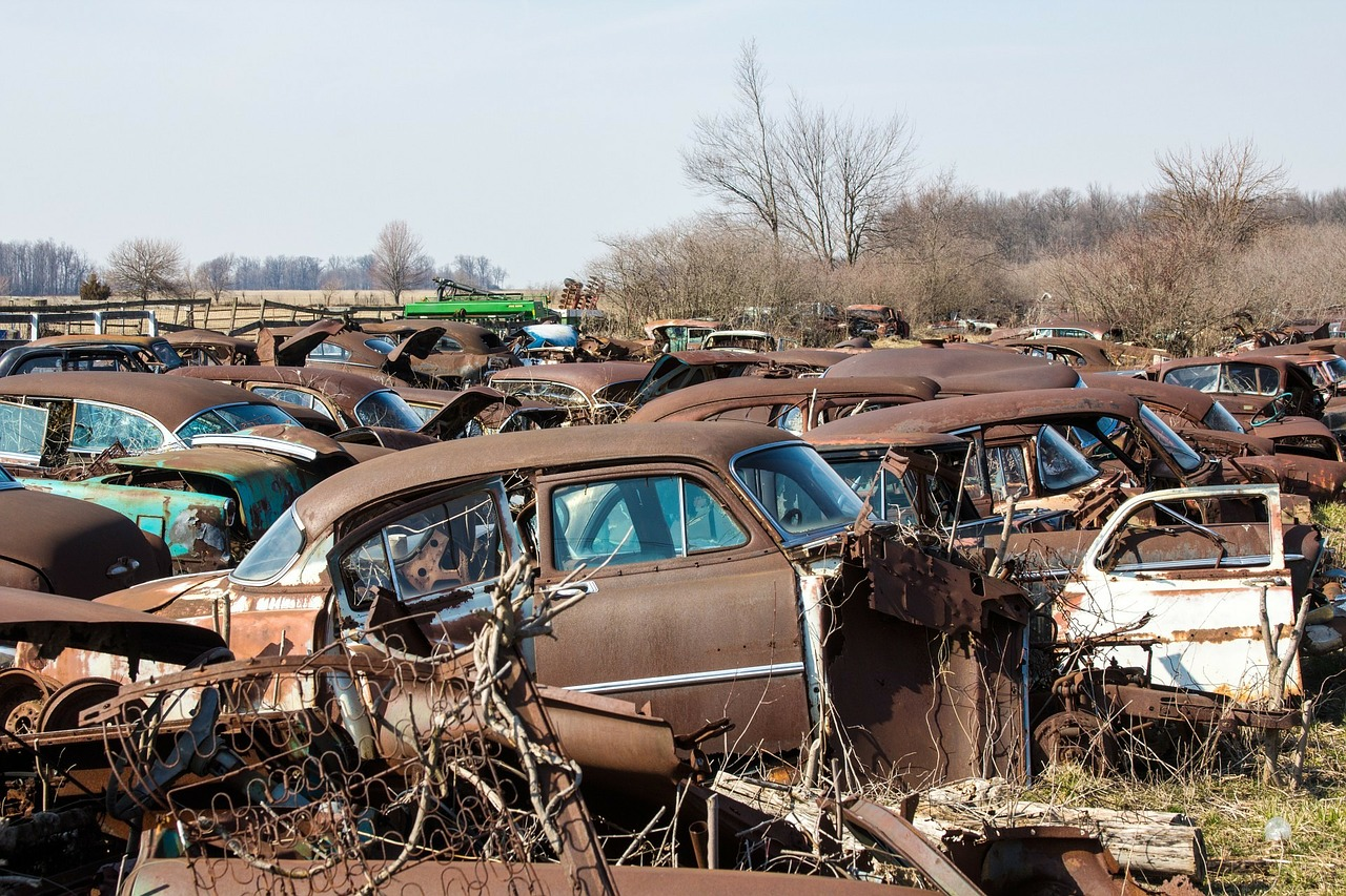 CAR SCRAP YARD NEAR SAUGUS MA