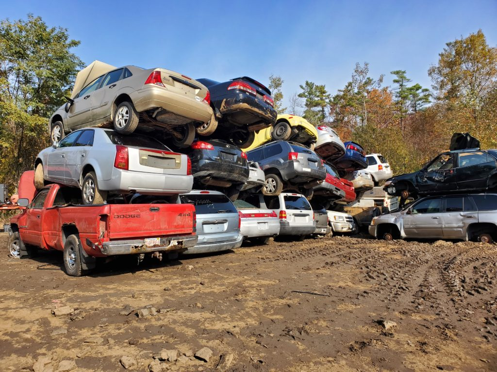 Buy junk cars without title near Beverly MA